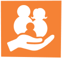 Family support and resources icon