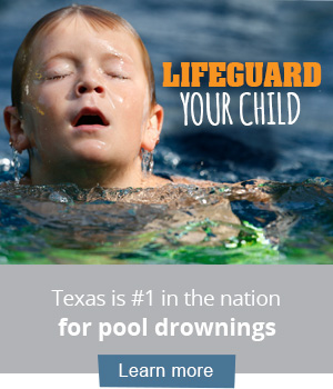 Lifeguard your child banner