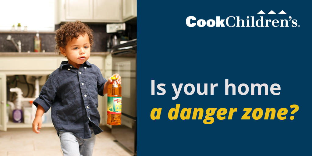 prevent poisoning accidents at home