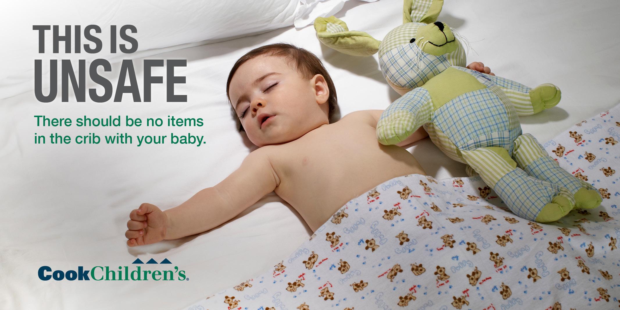 Help Promote Safe Infant Sleep Cook Children S